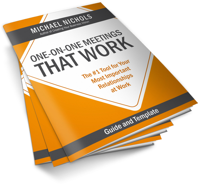 one on one meeting that works free pdf template michael nichols